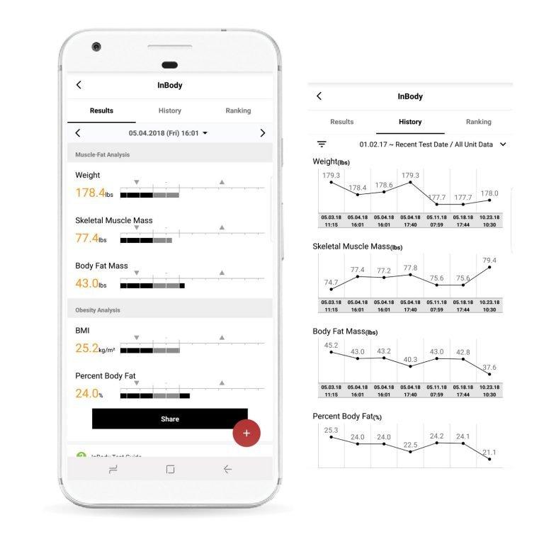 inbody-h20n-phone-app